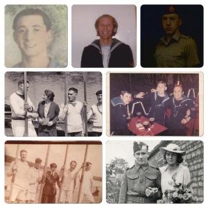 Adam's wartime family